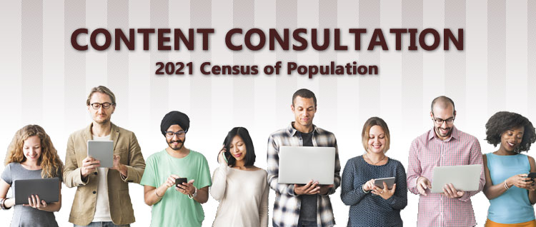 2021 Census of Population Content Consultation
