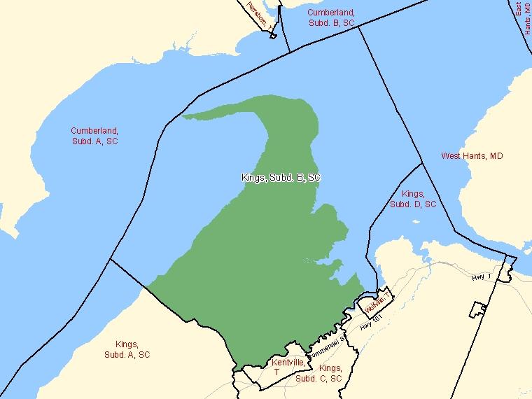 Map – Kings, Subd. B (SC)