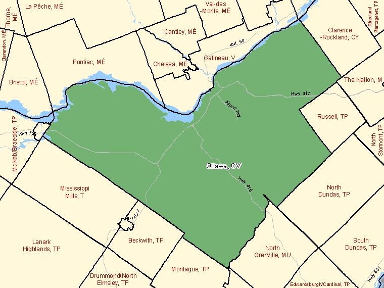 Map – Ottawa (CV)