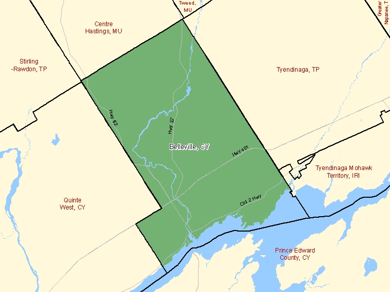 Map – Belleville (CY)