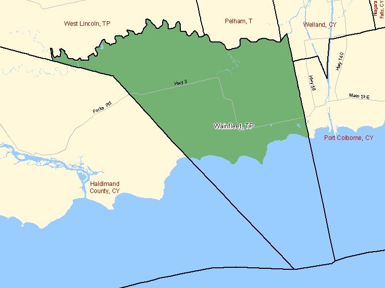 Map – Wainfleet (TP)