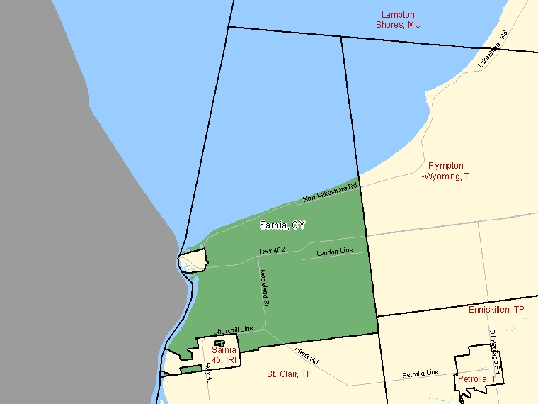Map – Sarnia (CY)