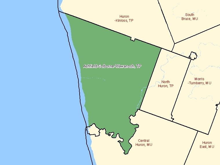 Map – Ashfield-Colborne-Wawanosh (TP)
