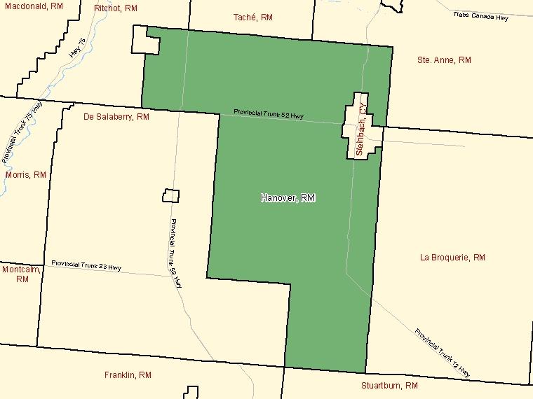 Map – Hanover (RM)