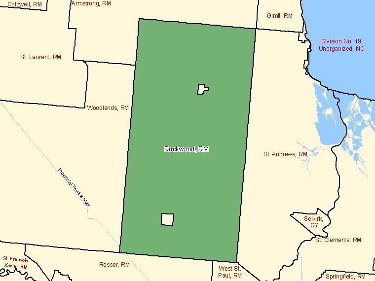 Map – Rockwood (RM)