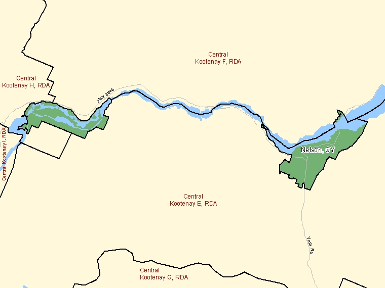 Map – Nelson (CY)