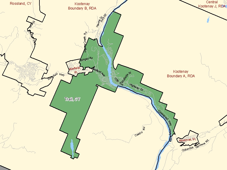 Map – Trail (CY)