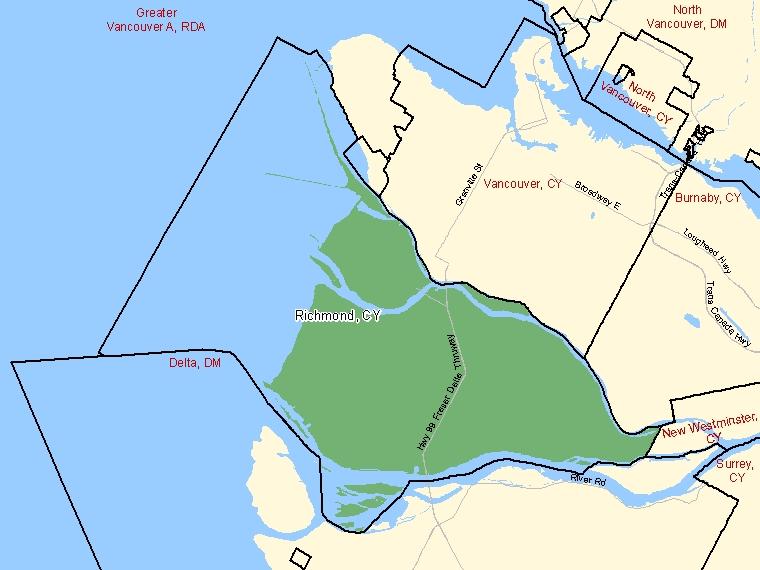 Map – Richmond (CY)