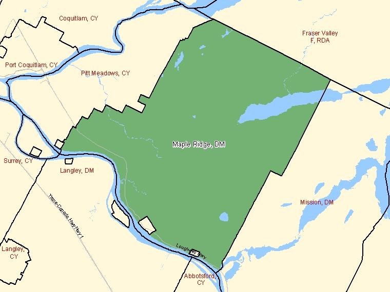 Map – Maple Ridge (DM)