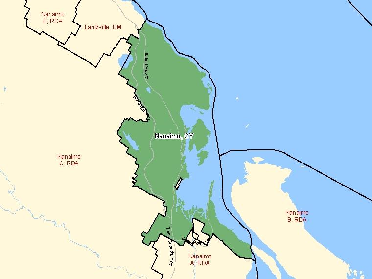 Map – Nanaimo (CY)