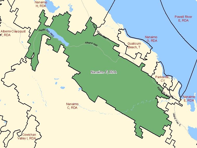 Map – Nanaimo F (RDA)